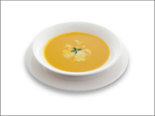かぼちゃのスープ_盛付例